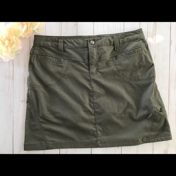 Athleta Dresses & Skirts - Athleta Greige Dipper Skort